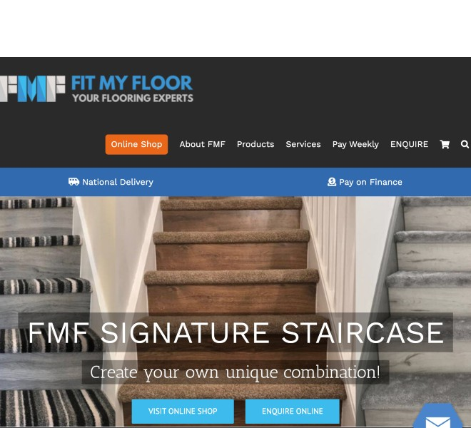 Fit My Floor Website